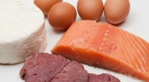 Eiwitrijk voedsel voor een gezonde voeding